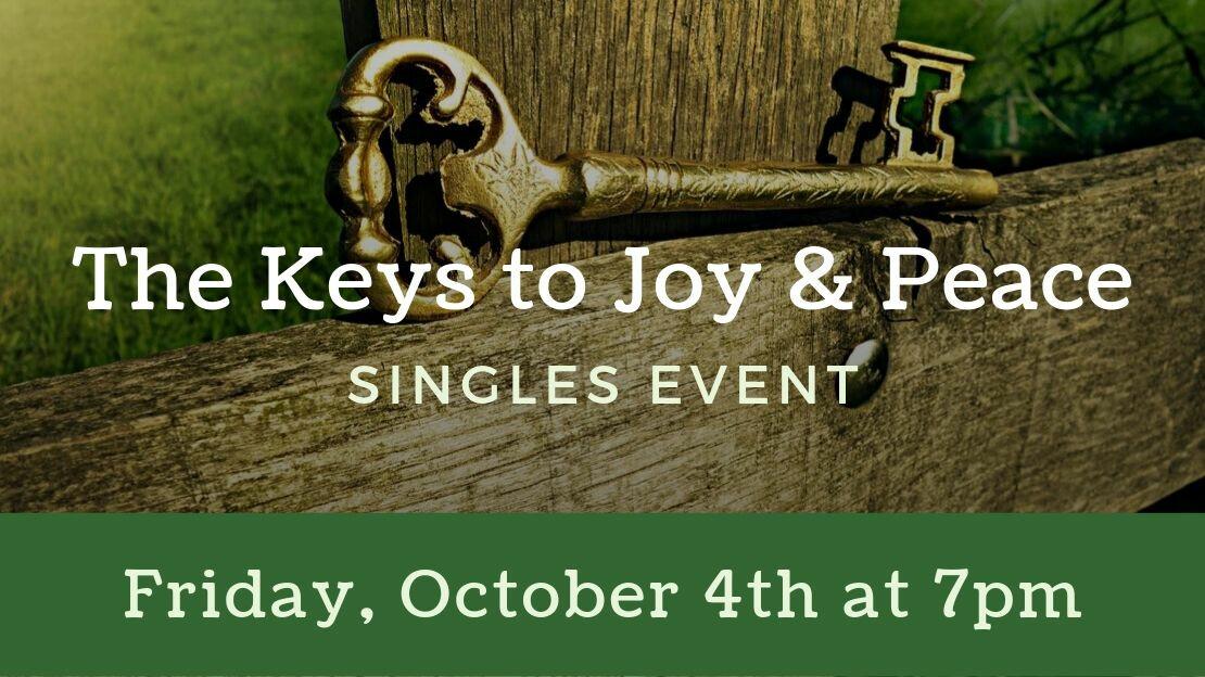 The Keys to Joy & Peace