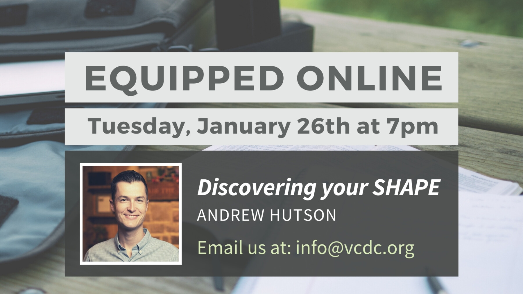 Equipped Online Zoom Class: Discovering your SHAPE
