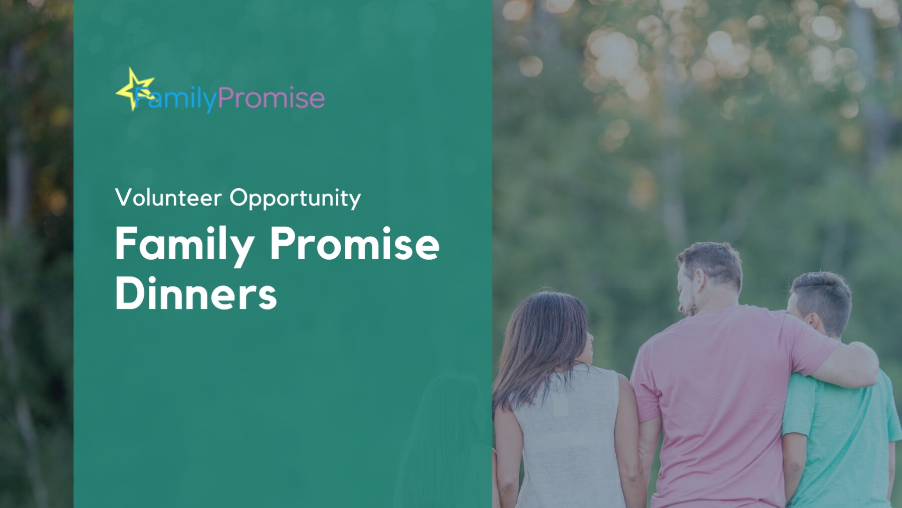 Family Promise Dinners